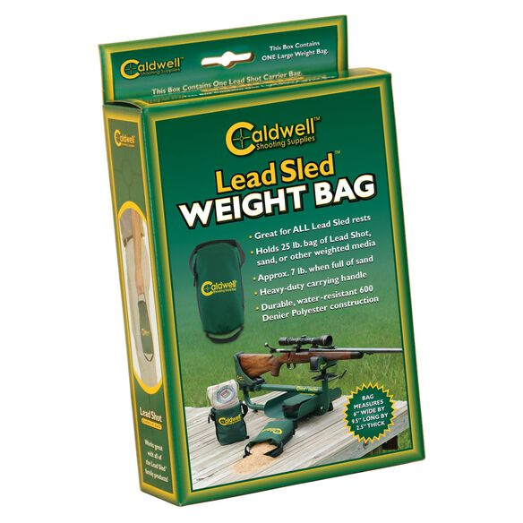 Lead Sled Weight Bag, Standard