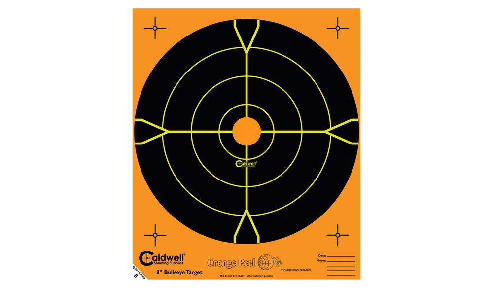 "Orange Peel 12"" Bullseye: 10 sheets"
