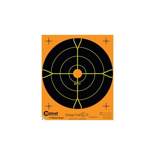 Caldwell® Orange Peel® Bullseye Targets