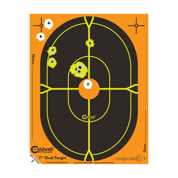 Caldwell® Orange Peel® Oval and Silhouette Targets