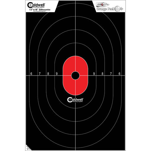 Caldwell® Silhouette Center Mass Target