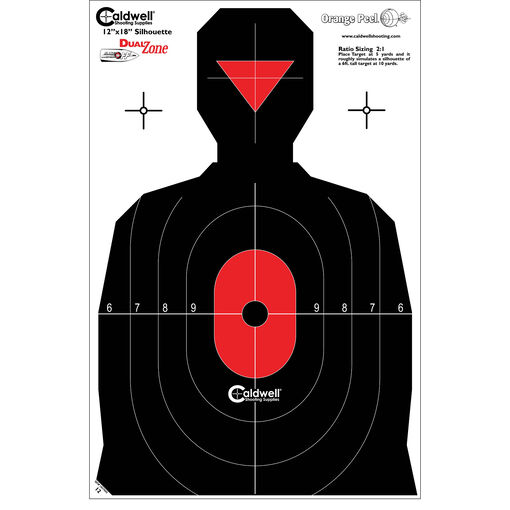 Caldwell® Silhouette Dual Zone Target