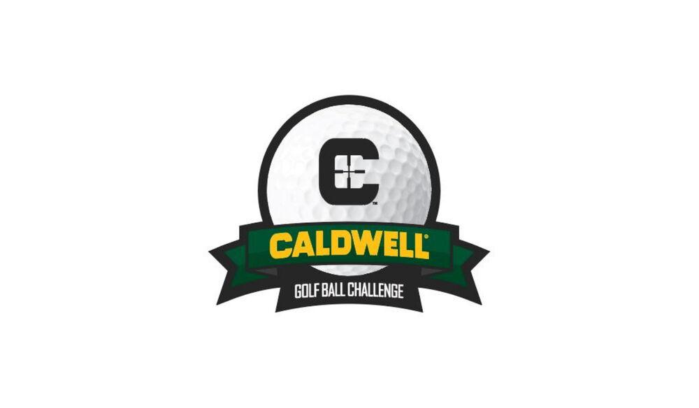 Caldwell Golf Ball Sticker