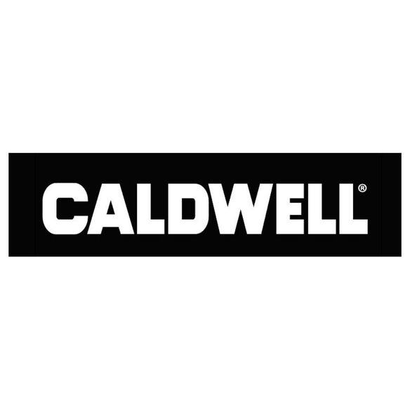 Caldwell Logo Sticker White - Large