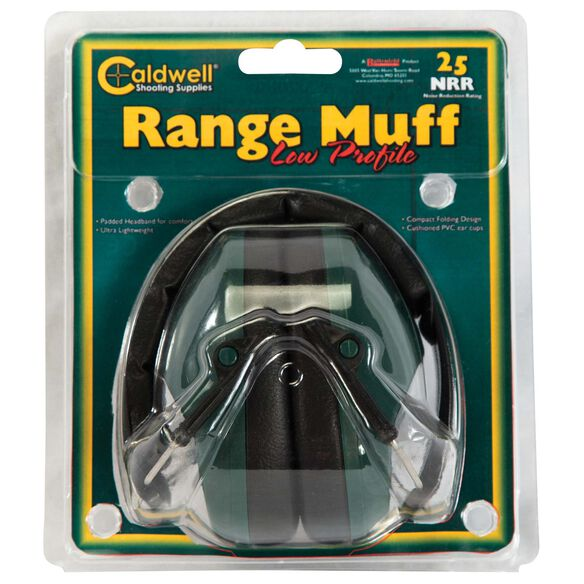 Range Muff Low Profile, 25 NRR
