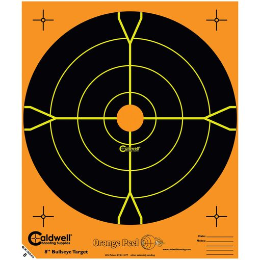 "Orange Peel 5.5"" Bullseye: 50 sheets"