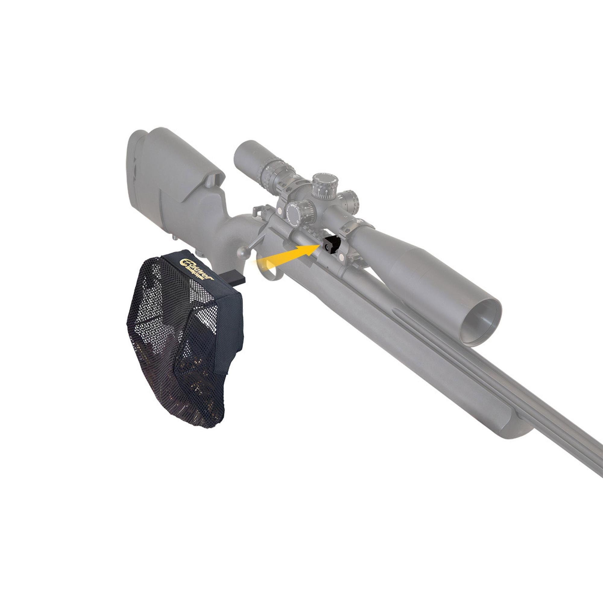 Caldwell 530143 Fully Adjustable Rifle Pic Rail Picatinny Brass Catcher Mesh Bag