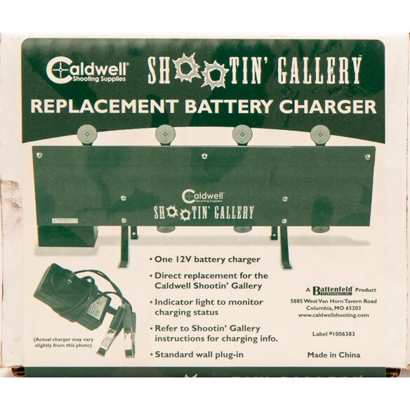 Caldwell® Shootin Gallery™ Replacement Battery Charger