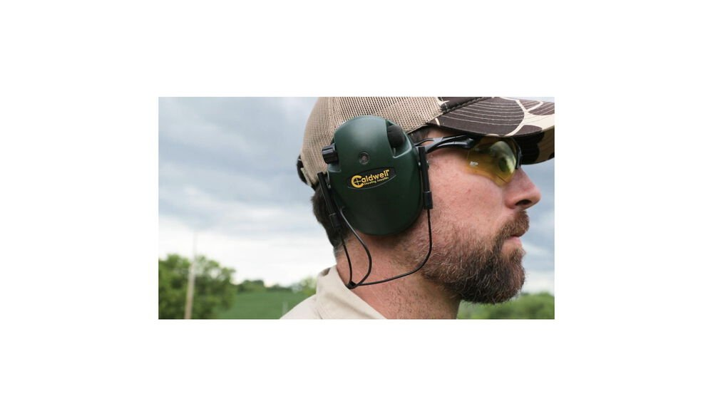 E-Max Low Profile, Behind the Neck Electronic Hearing Protection