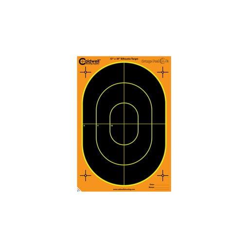 "Orange Peel Oval Target 18"" 100 sheets"