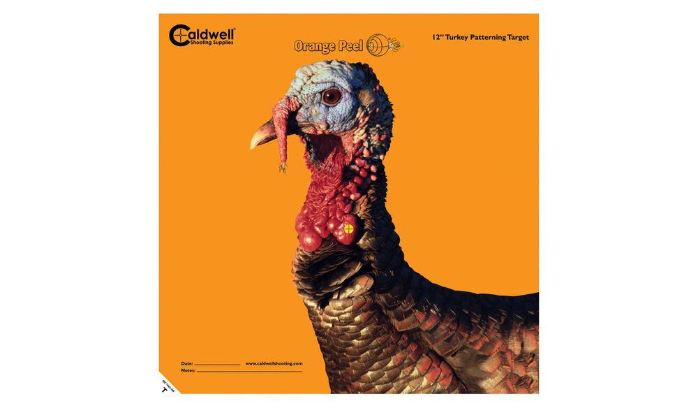 "Orange Peel Turkey Target: 12"" 5 sheets"