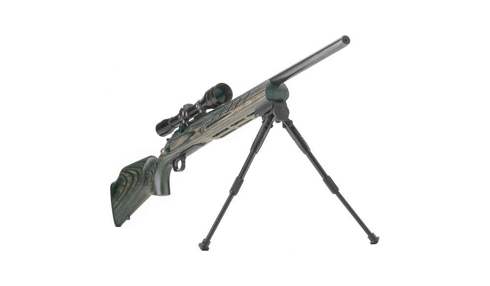 Shooting Bipods, Prone Model - Black