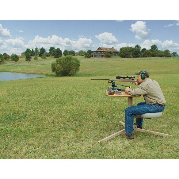 BR Pivot Shooting Bench, Butcher Block Top