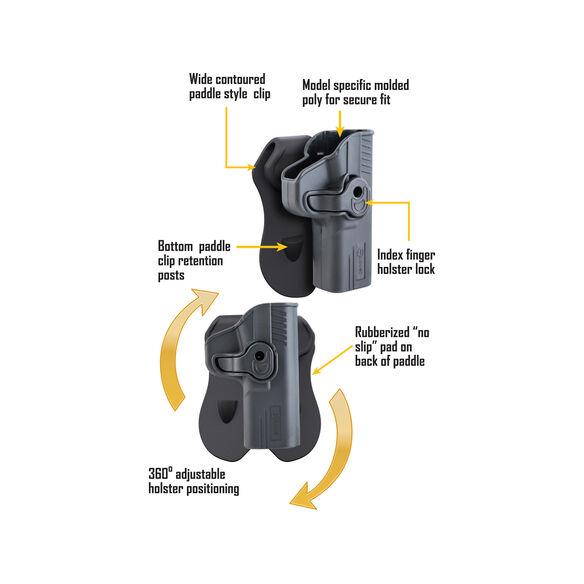 Tac Ops Holster S&W J Frame Revolver