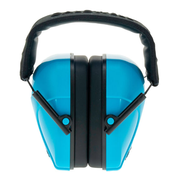 Youth Passive Earmuff Neon Blue