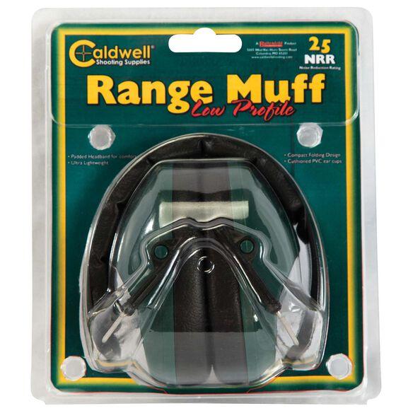 Range Muff Low Profile, 25 NRR