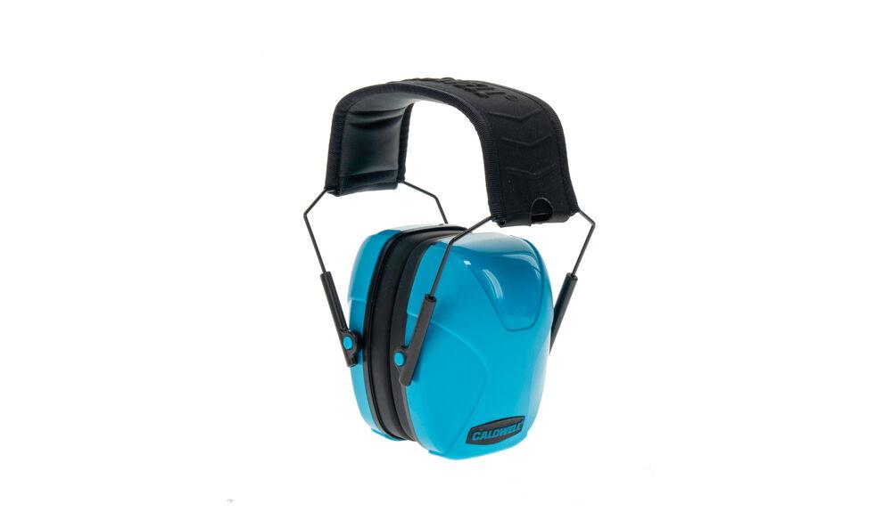 Youth Passive Earmuff Neon Blue