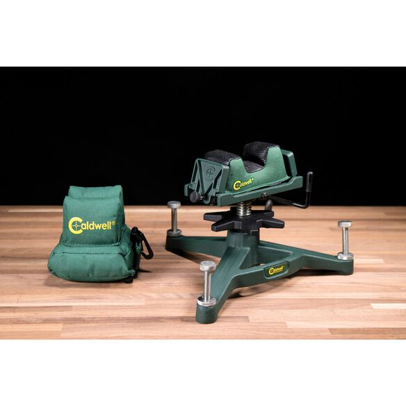 The Rock Dlx Shooting Rest and Rear Bag Combo