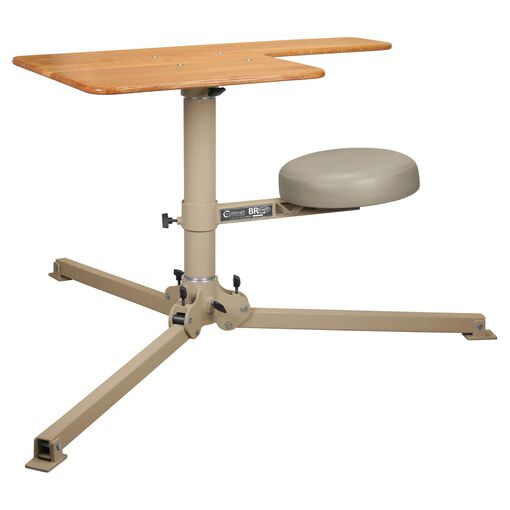 BR Pivot Shooting Bench, Butcher Block Top