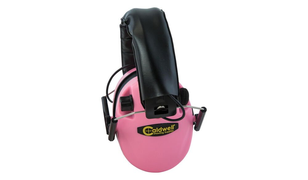 E-Max Low Profile Electronic Hearing Protection - Pink