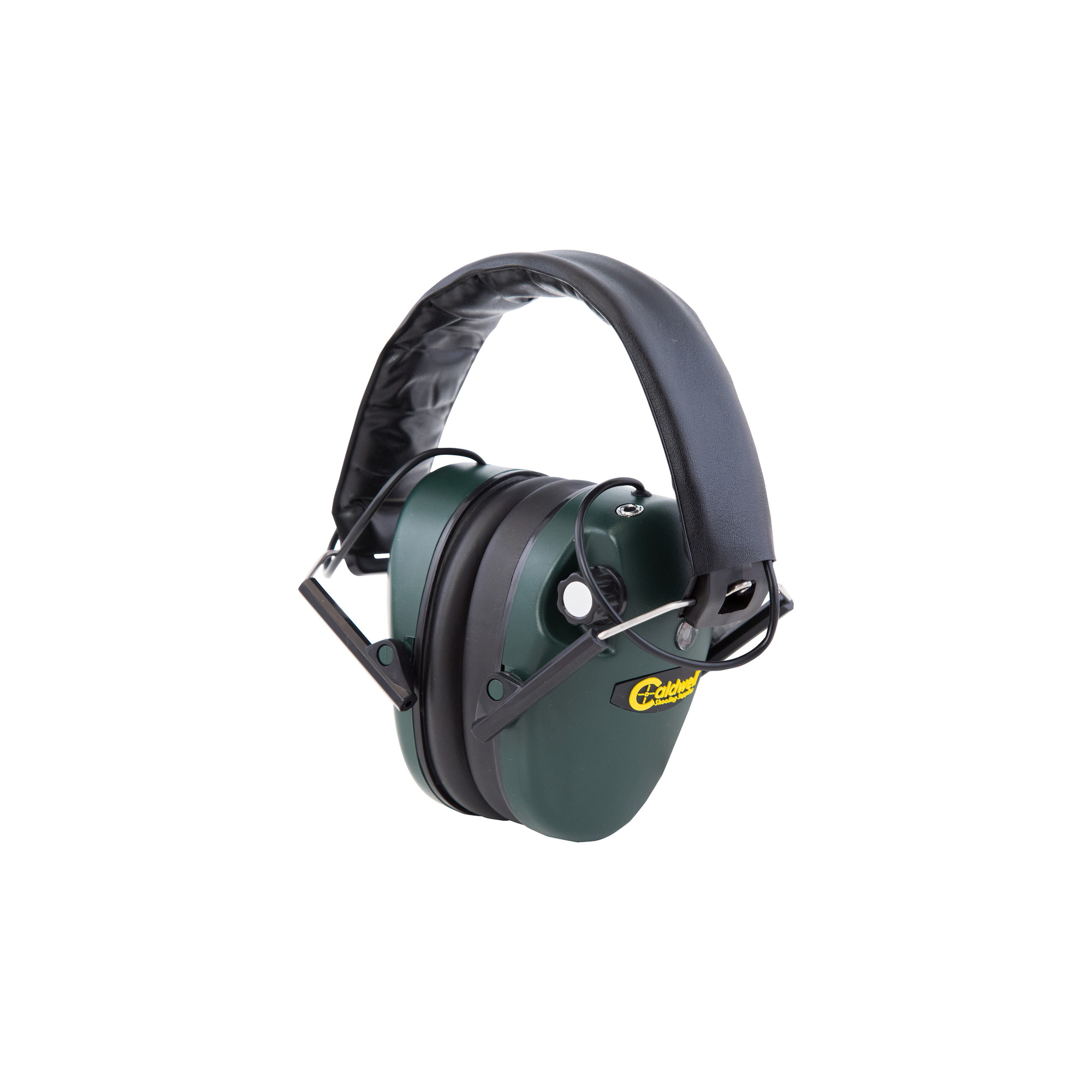 Details about  /Caldwell E-MAX Electronic Earmuffs NRR 25dB Green NEW 497700